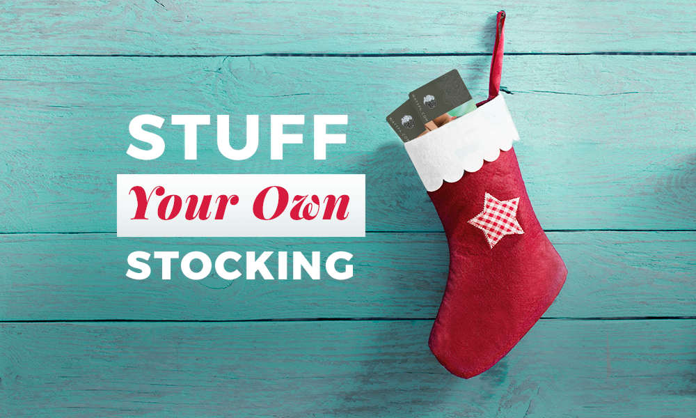 Stuff Your Own Stocking with WaySpa
