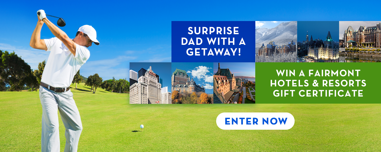 Enter to Win Father's Day Getaway